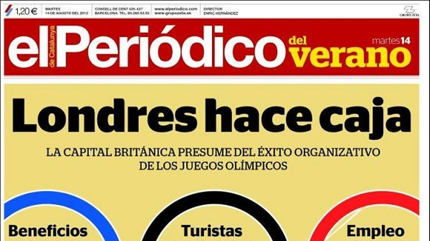 De las portadas del día (14/08/2012) #11