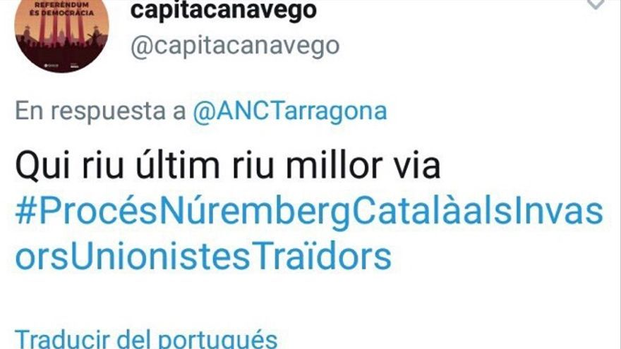 Incidente relativo a Tarragona
