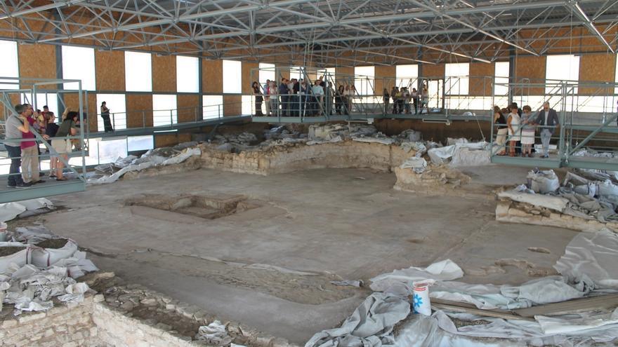 La villa romana de Noheda en Cuenca, catalogada como la Pompeya española, abre sus puertas 'sine die'