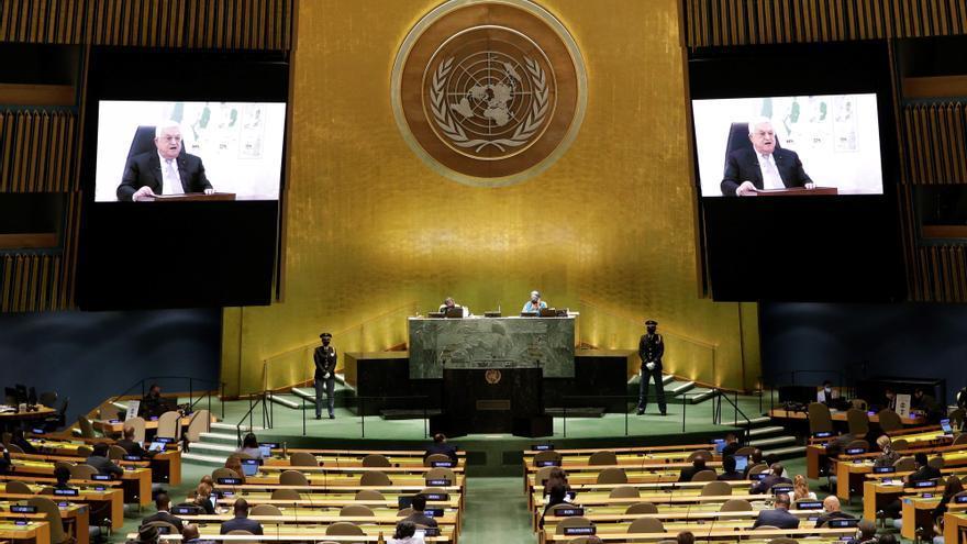 """Abás abre la puerta a que Palestina abandone la solución de """"dos Estados"""""""