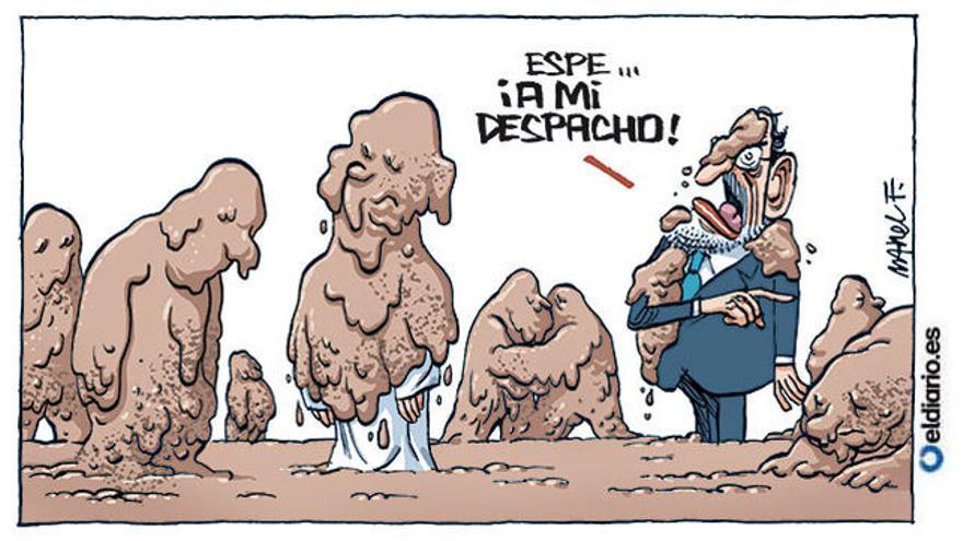 Así retrata Fontdevila a Aguirre tras la detención de Ignacio González