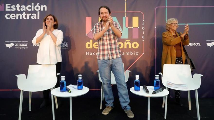 Alquileres, turismo y movilidad, ejes de los ayuntamientos de Carmena y Colau