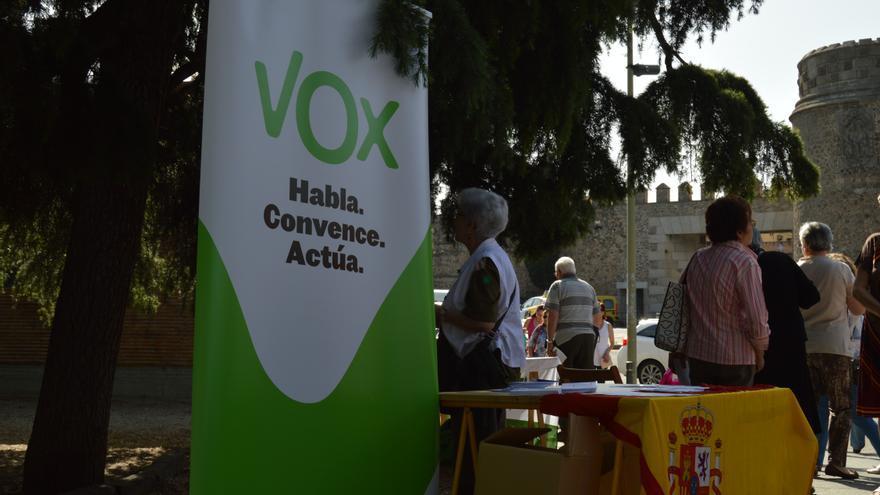 Stand de VOX, Toledo / Foto: Javier Robla
