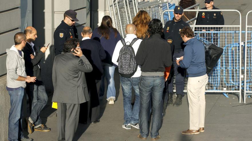 La Policía corta los accesos al Congreso por la protesta del 25S
