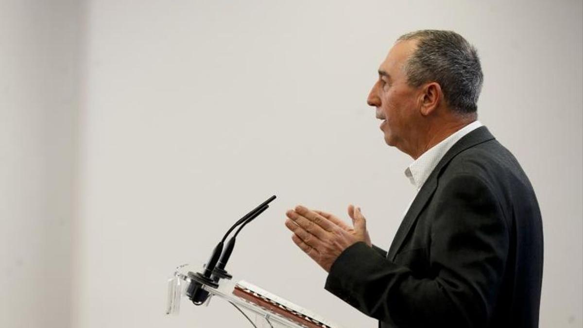 El diputado de Compromís en el Congreso Joan Baldoví.