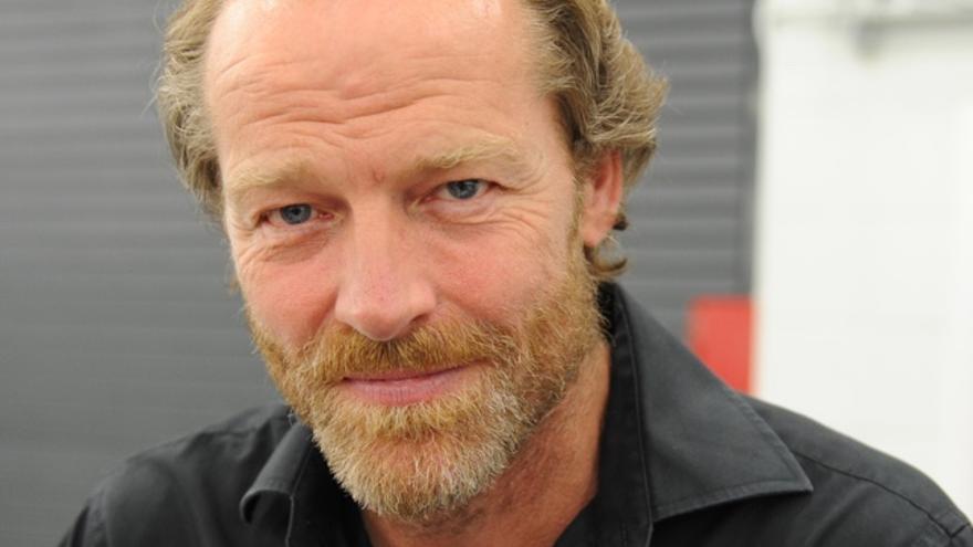 El actor escocés Iain Glen, Sir Jorah Mormont en Juego de Tronos, es un ejemplo de rosácea. Foto: Alan Chang / Wikimedia