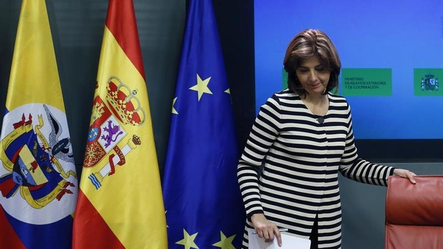 Holguín defiende la vía del diálogo auspiciada por expresidentes mediadores