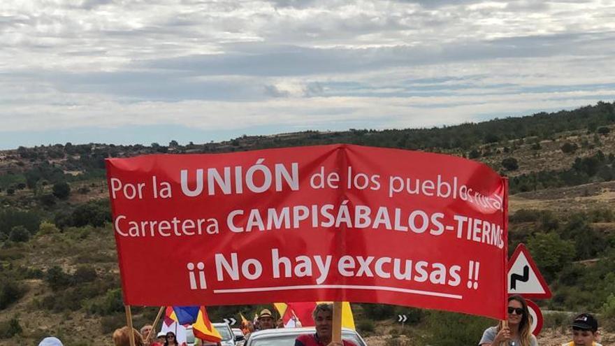 Marcha reivindicativa entre Campisábalos (Guadalajara) y Tiermes (Soria)