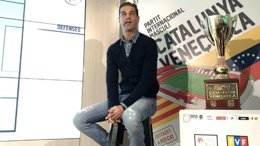 El seleccionador catalán, Gerard López.
