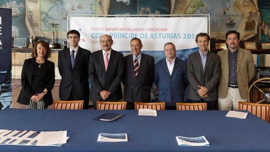 La regata Copa Príncipe de Asturias de vela partirá por primera vez del Puerto de Laredo