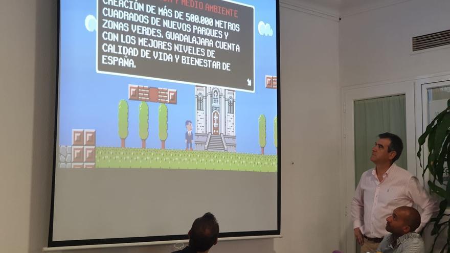 Presentación de la iniciativa FOTO: Grupo Popular Ayuntamiento de Guadalajara