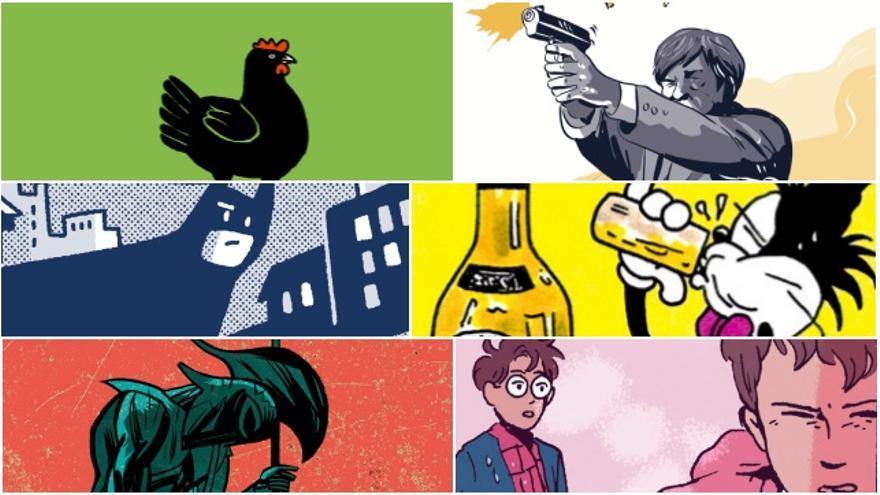 Cómics collage