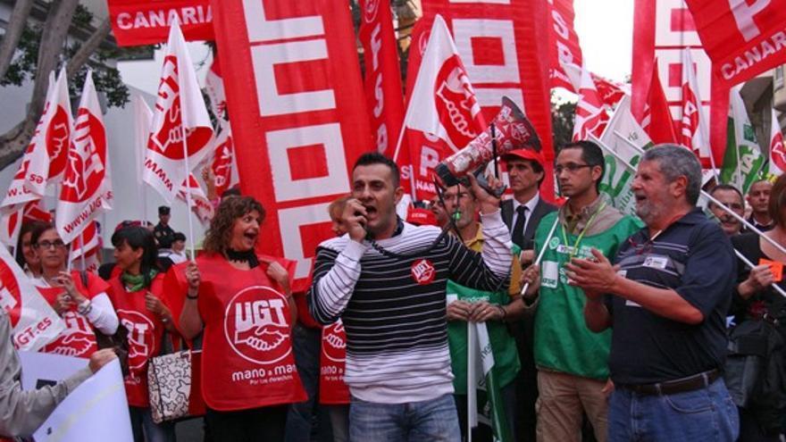 De las protestas en Tenerife #3