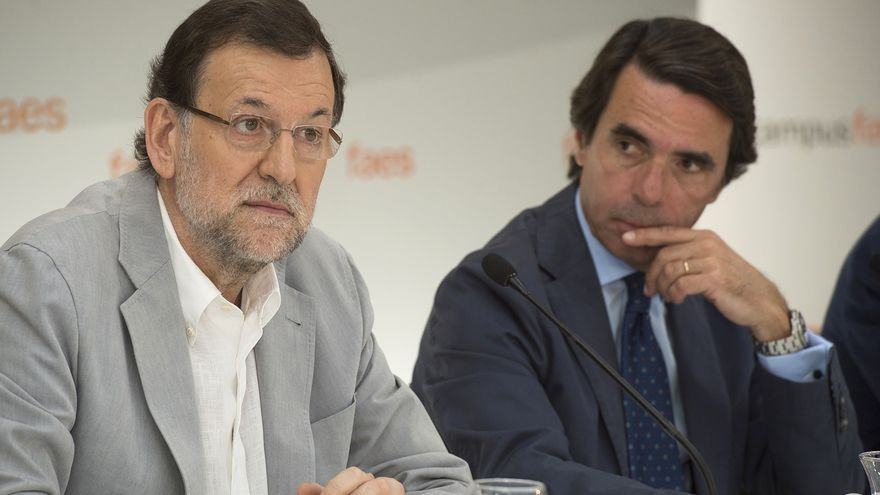 """Rajoy resta relevancia a su ausencia en el último acto de Aznar: """"Mi relación con el expresidente es muy buena"""""""