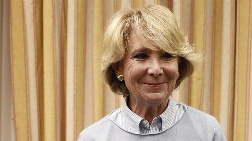 Aguirre: Que yo sepa no ha habido ninguna financiación ilegal de PP de Madrid