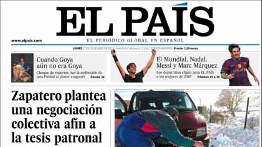 De las portadas del día (27/12/2010) #5