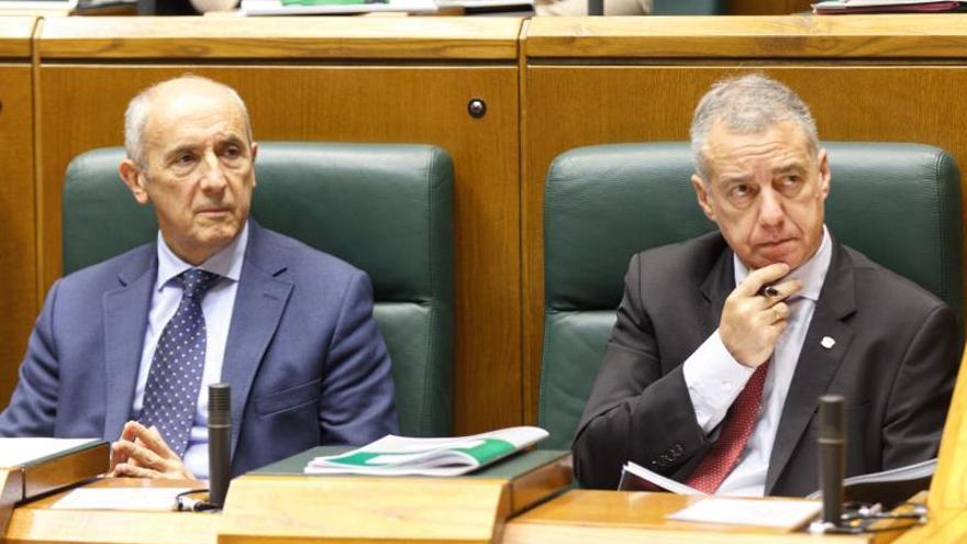El Parlamento vasco aprueba una resolución que defiende el derecho a decidir