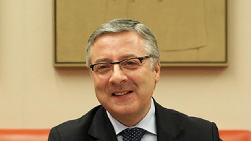 El ministro José Blanco en el Congreso