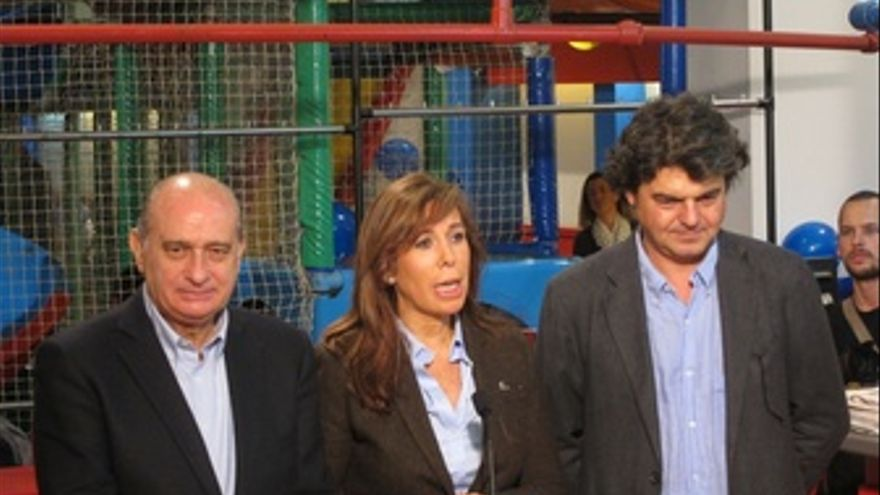 Jorge Fernández, Alicia Sánchez Camacho Y Jorge Moragas (PP