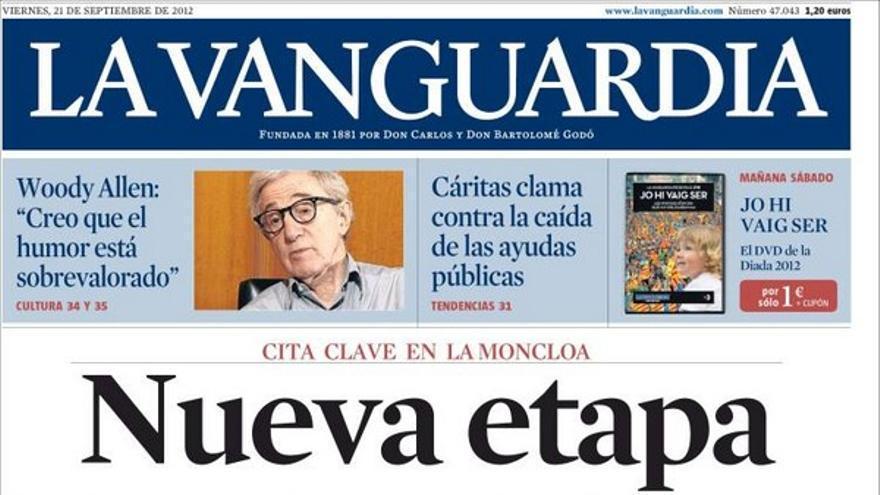 De las portadas del día (21/09/2012) #11