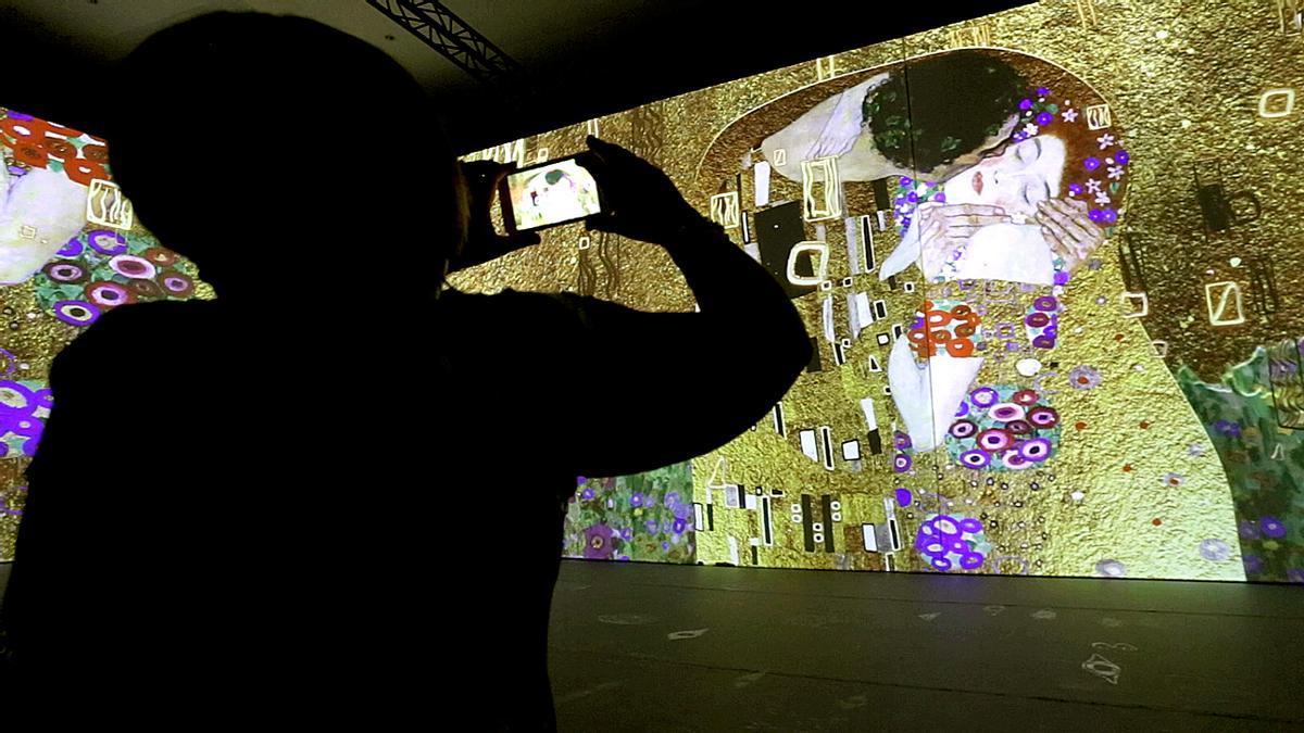 La exposición 'El Oro de Klimt', del Ateneo Mercantil de València.