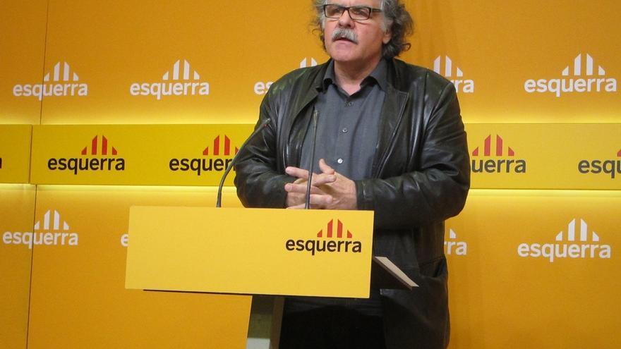 """Joan Tardà (ERC) reclama a Rajoy """"la honradez"""" de reconocer el derecho a decidir que demanda la """"mayoría"""" de catalanes"""