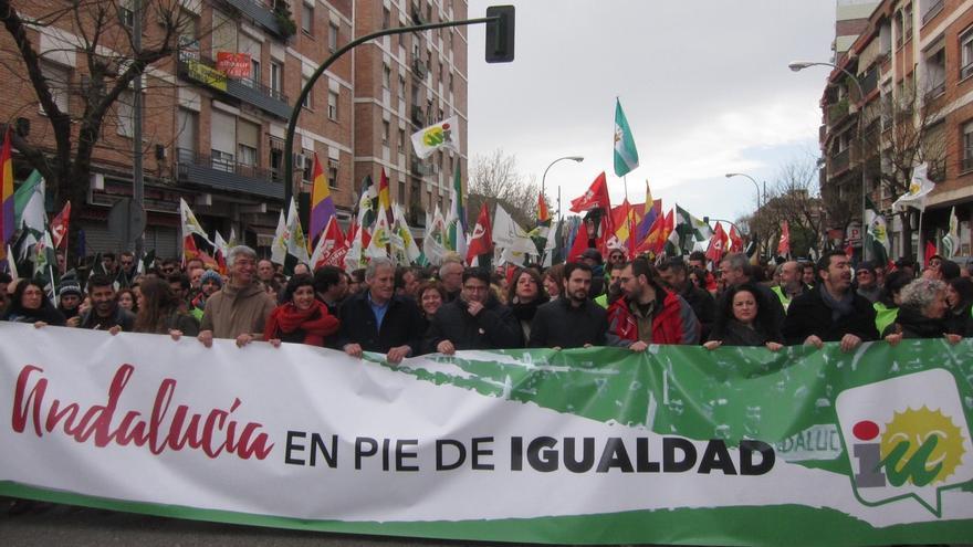 """Garzón defiende que la manifestación de IU por el 28F es """"propositiva"""" para """"un nuevo país y sociedad"""""""