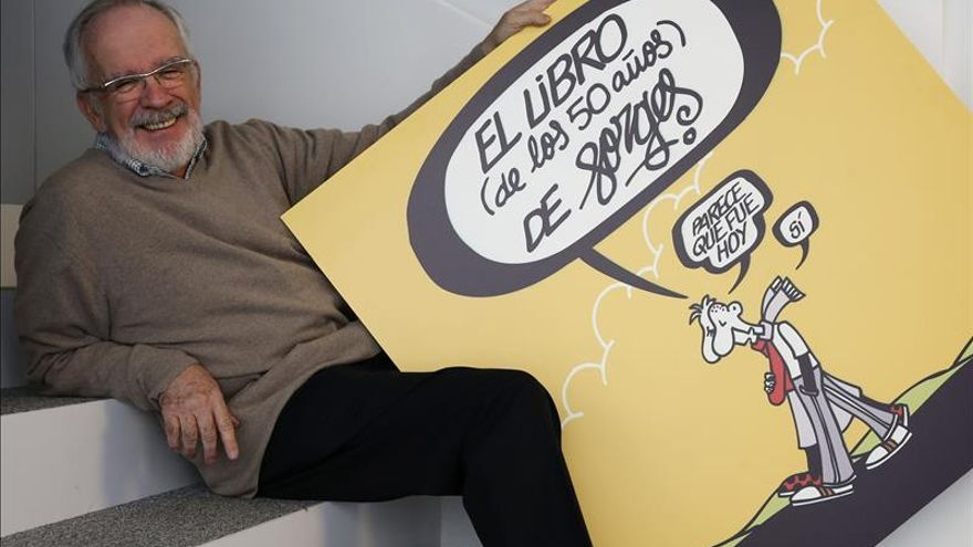 Antonio Fraguas, Forges, Premio Iberoamericano de Humor Gráfico Quevedos 2014
