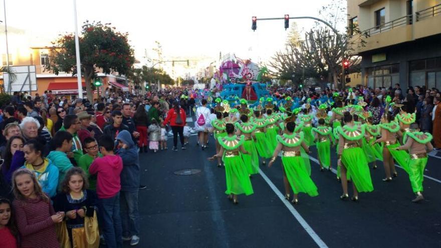 Imagen de archivo del 'Coso escolar' del carnaval 2014.