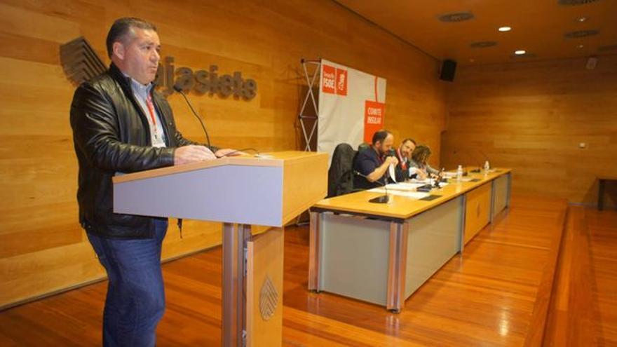 Manuel Fumero, alcalde de Vilaflor y secretario general del PSOE de Tenerife.