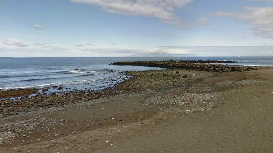 Playa de Troya, en una imagen de archivo, en Arona