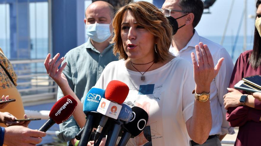 Díaz avisa en el arranque de primarias: El PSOE-A se juega ser una sucursal