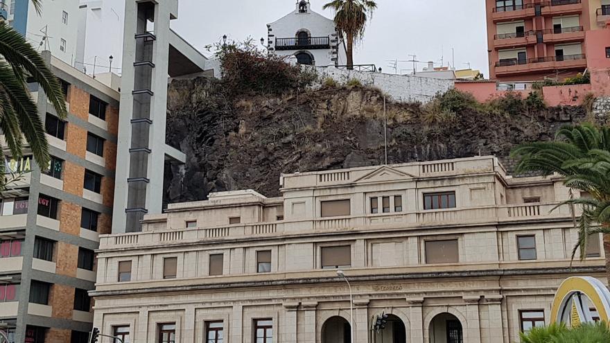 Obra del primer ascensor urbano que tendrá La Palma.