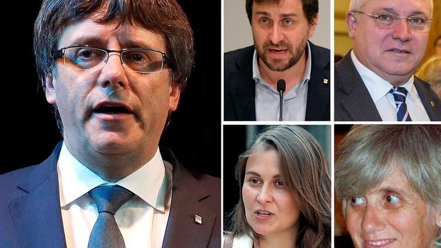 Los exconsellers en Bruselas podrían dejar el acta para asegurar mayoría en la cámara