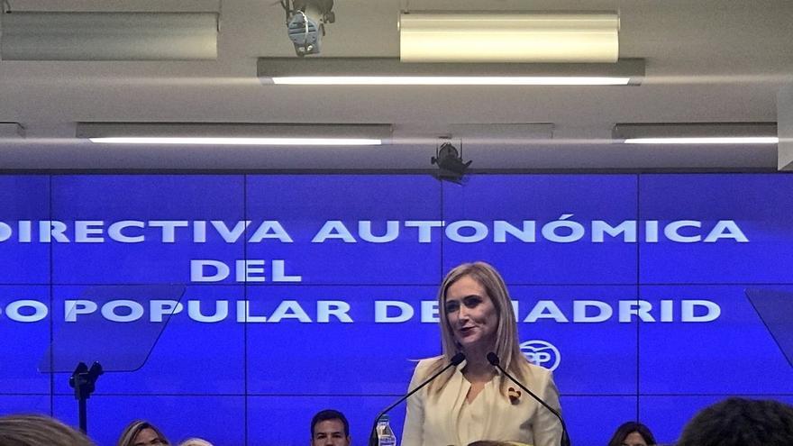 PP de Madrid de Cifuentes actualiza su censo y lo fija en 68.427 afiliados, 25.573 menos de los que presumía Aguirre