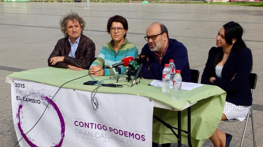 Presentación de Contigo Podemos Gran Canaria.