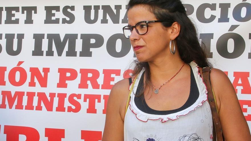 """Teresa Rodríguez (Podemos) critica que PP use a víctimas del terrorismo """"como martillo de herejes"""""""