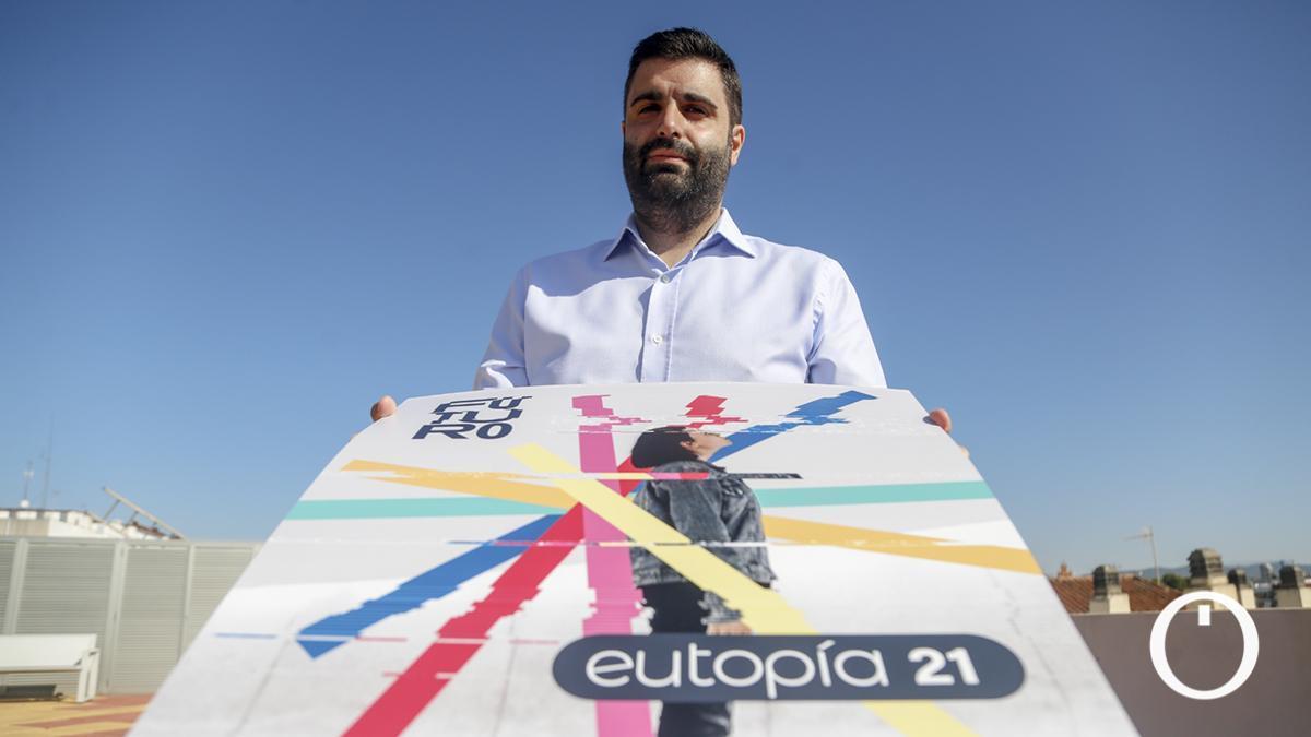 Salvador García, coordinador del IAJ en Córdoba