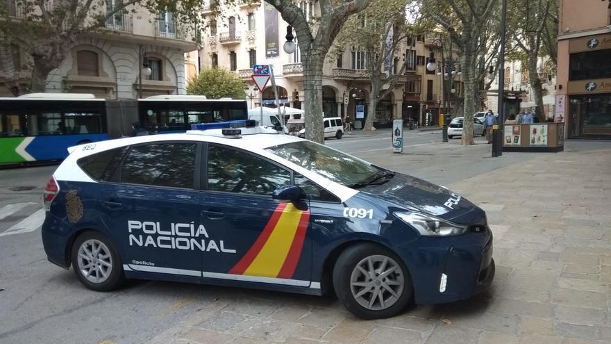 Foto de recurso de un coche de la Policía Nacional