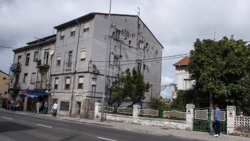 Vista general del Barrio de El Pilón, en Santander. | Joaquín Gómez Sastre