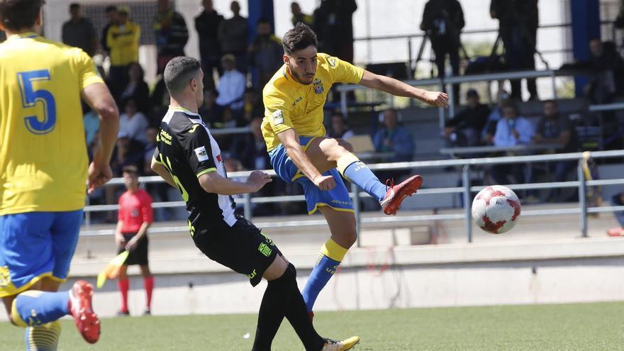 Las Palmas Atlético empata con el Cartagena (1-1) y sigue en zona de descenso