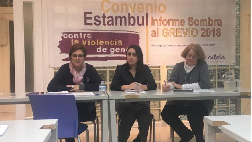Presentación del informe Sombra, este miércoles en Madrid.