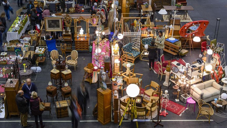 Imagen de archivo de una edición de la Feria Desembalaje en el BC