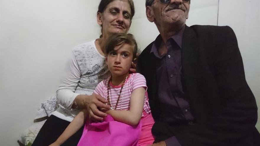 Cristina, la niña secuestrada por el EI que volvió con su familia cristiana