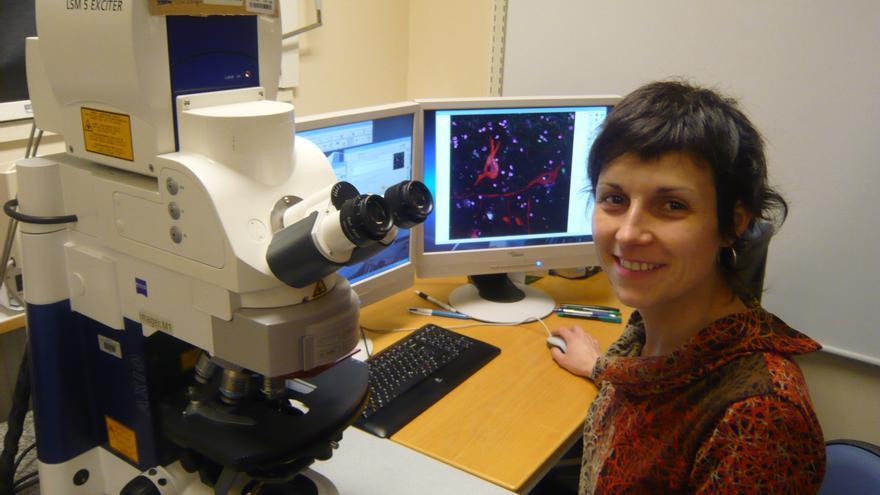 Ariadna Laguna Tuset, doctora en Biología por la Universidad Pompeu Fabra.