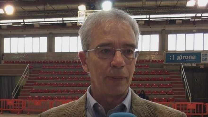 Pepe Carrión, entrenador del Spar Gran Canaria.