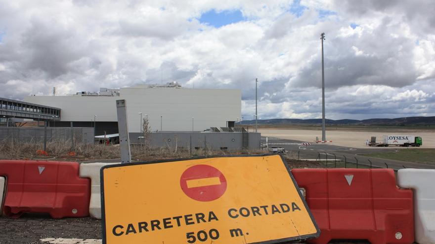 Instalaciones abandonadas del Aeropuerto de Ciudad Real / Foto: el CRisol de Ciudad Real