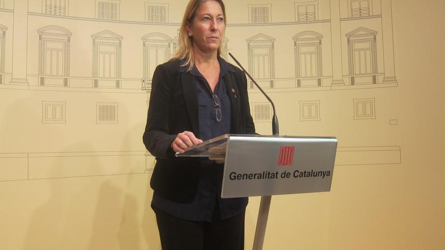 """El Gobierno catalán anuncia la """"voluntad"""" de aplicar la resolución independentista pese a suspenderla el TC"""