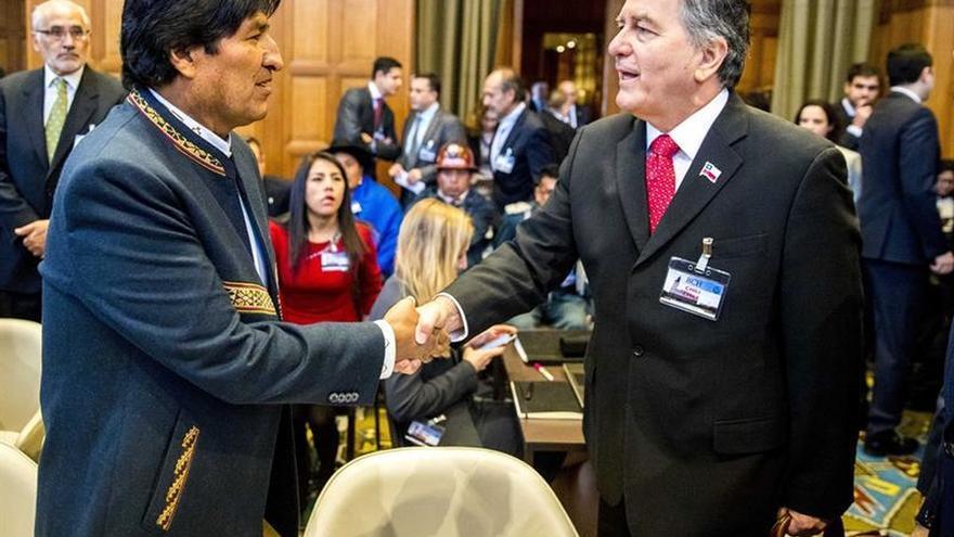 """Evo Morales aboga por el """"restablecimiento"""" de las relaciones diplomáticas con Chile"""