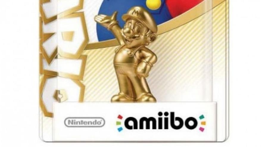 amiibo de Mario dorado